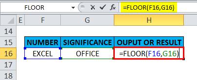 FLOOR Example 5-3