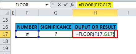 FLOOR Example 5-5