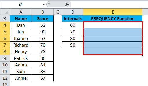 FREQUENCY Example 1-3