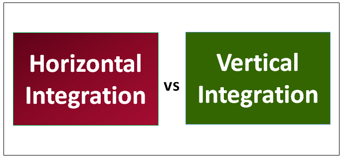 Horizontal Integration vs Vertical Integration