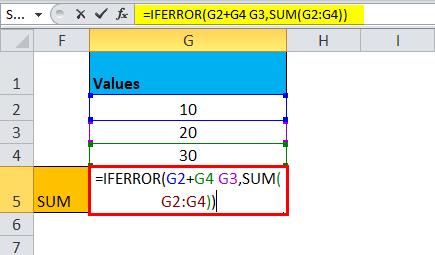 IFERROR Example 2-8