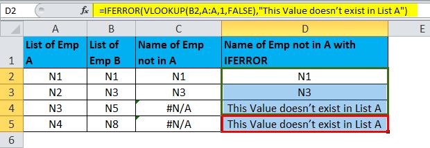 IFERROR Example1-8