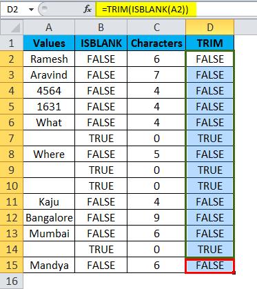 ISBLANK Example 2-11