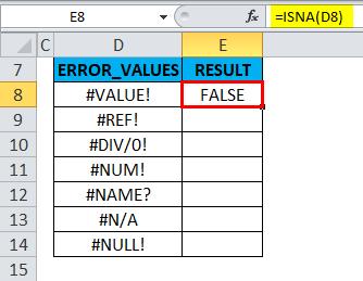 ISNA Example 1-6