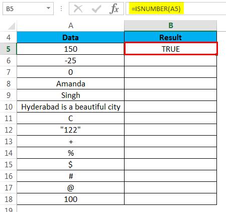 ISNUMBER Example 1-3
