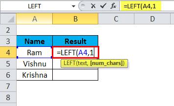 LEFT Example 3-3