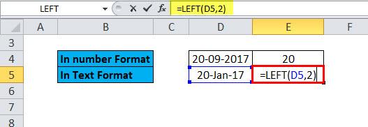 LEFT Example 5-3