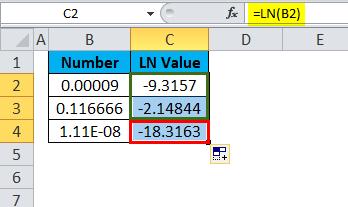 LN Example 4-4