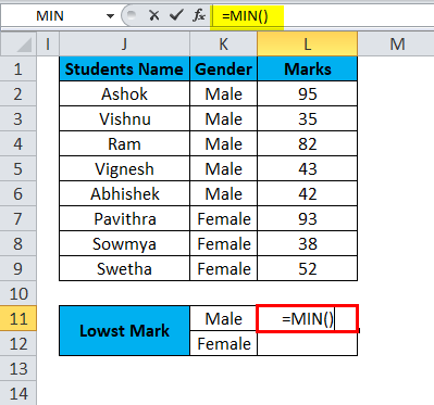 MIN Example 3-2