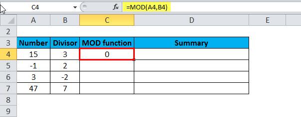MOD Example 2-3