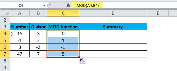 MOD Example 2-4