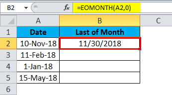 MONTH Example 3.4
