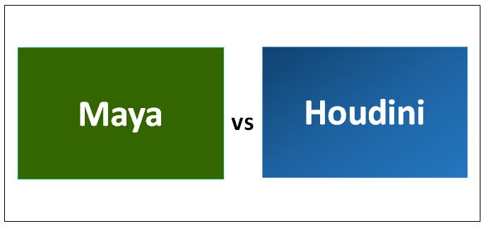 Maya vs Houdini