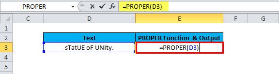 PROPER Example 2-5