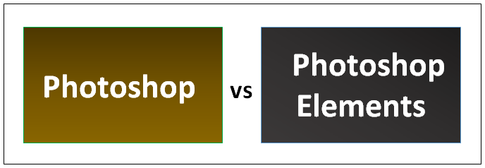 Photoshop vs Photoshop Elements