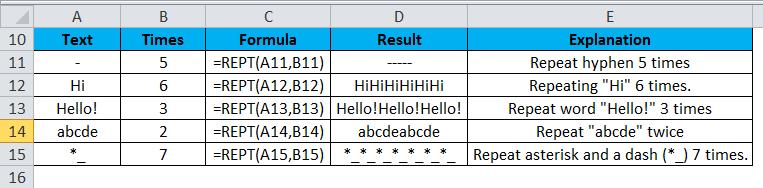 REPT Example 1-4