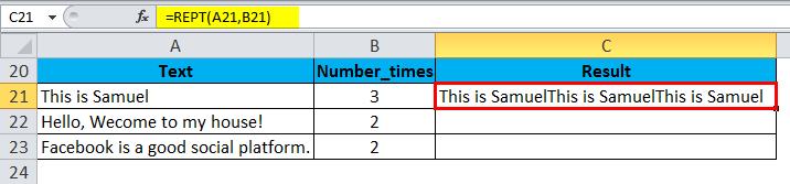 REPT Example 2-2
