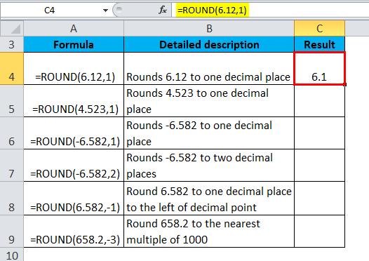 ROUND Example 1-2