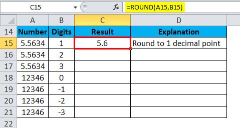 ROUND Example 2-2