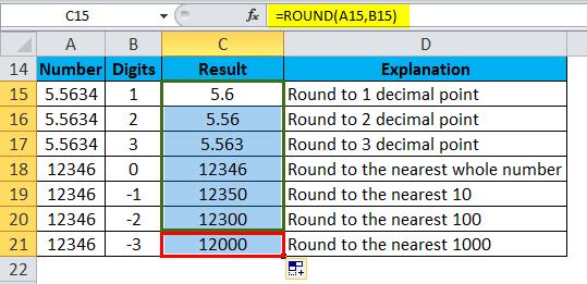 ROUND Example 2-3