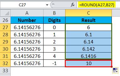 ROUND Example 3-3