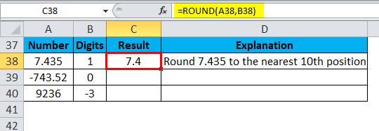 ROUND Example 4-2
