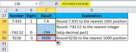 ROUND Example 4-3