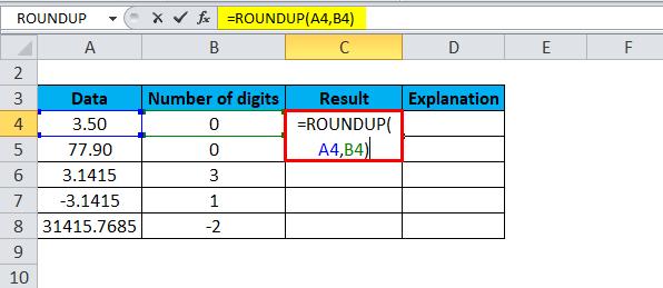 ROUNDUP Examples 1-2