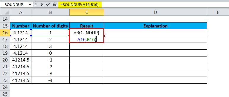 ROUNDUP Examples 2-2