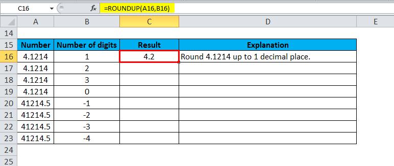 ROUNDUP Examples 2-3