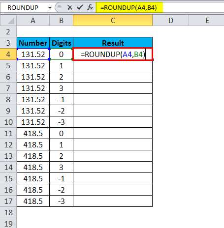 ROUNDUP Examples 3-2