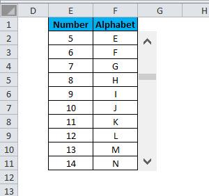 SCROLLBAR Example 1-18