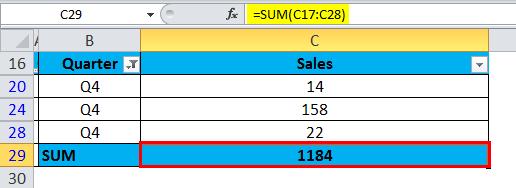 SUBTOTAL Example 1-3
