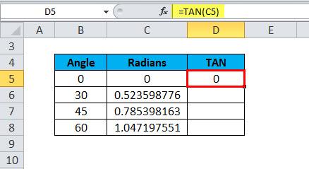 TAN Example 1-8