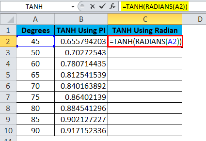 TANH Example 1-8