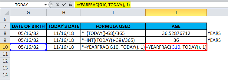 TODAY in excel (Formula, Examples) | How to use TODAY Function ?