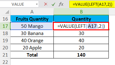 VALUE Example 3.1