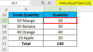 VALUE Example 3.2