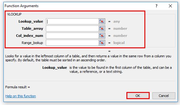 VLOOKUP(formula tab)
