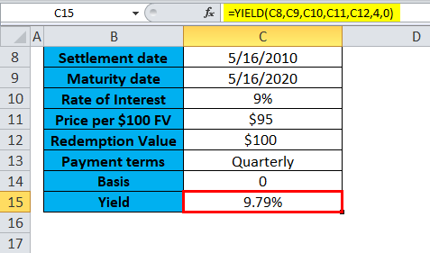 YIELD Example 1-4