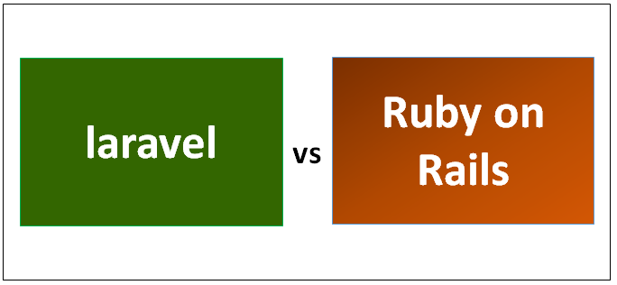 laravel vs Ruby on Rails
