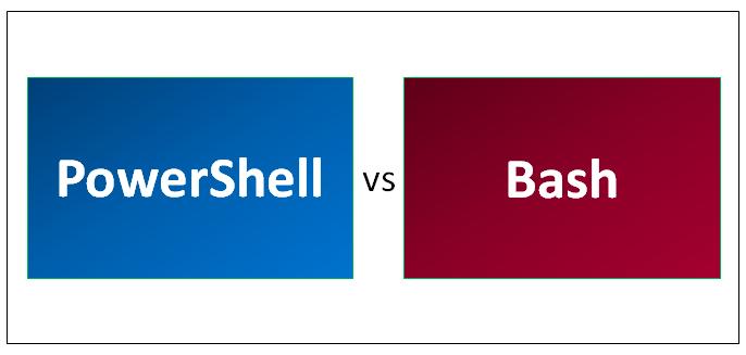 powershell vs bash