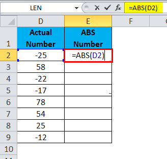 ABS Function 1-1
