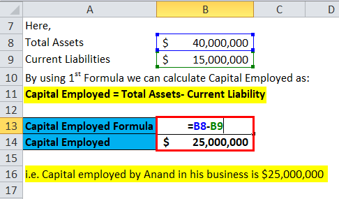 Capital Employed Example 1-1