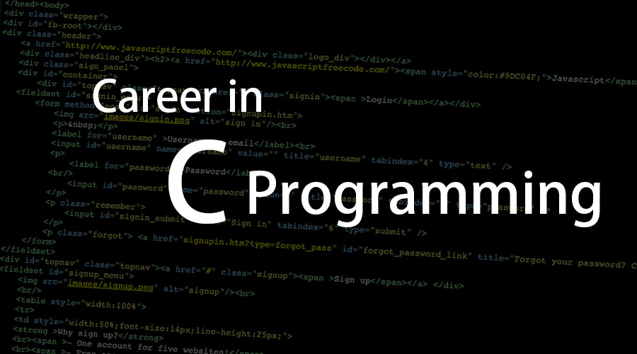 Career-in-C-Programming