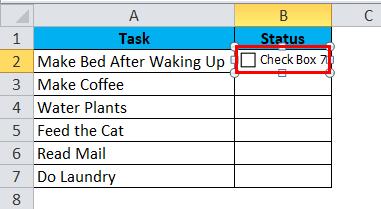 CheckBox Example 2-2