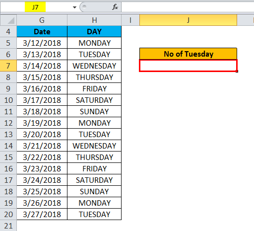 Excel Data Example 2