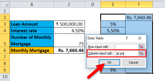 Data Table Example 1-6