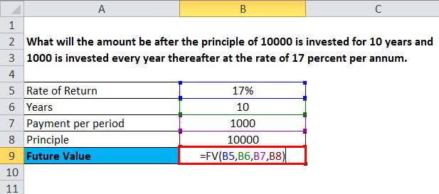 Future Value Example 1-1