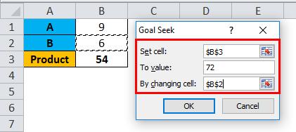 Goal Seek Example 1-2